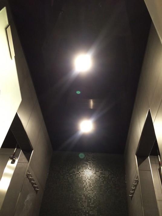 Spanndecke in Dusche, Gestaltung Badezimmer in Pforzheim