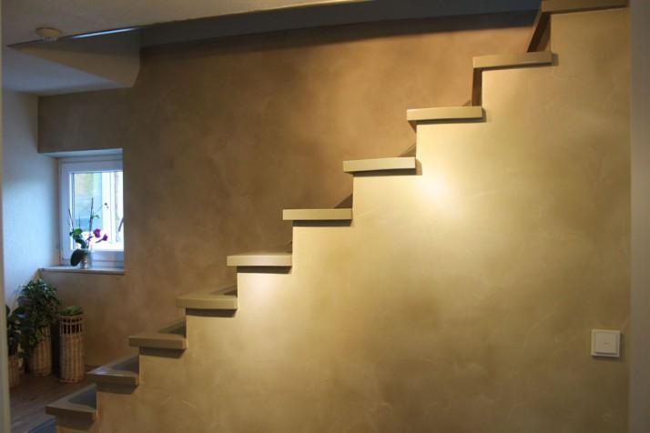 Stilvolle Wandgestaltung Flur und Treppenhaus
